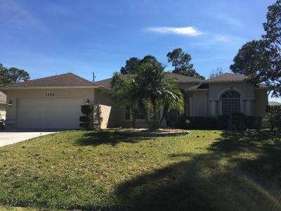 Port Saint Lucie Rental For Rent: 1352 SW Tadlock Avenue