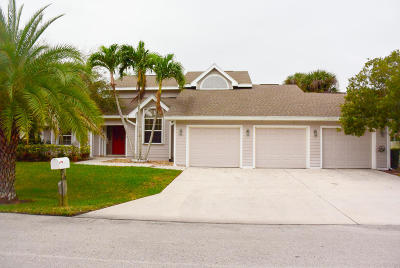 Hutchinson Island FL Single Family Home For Sale: $555,000