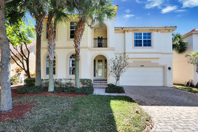 Palm Beach Gardens Single Family Home For Sale: 8100 Bautista Way
