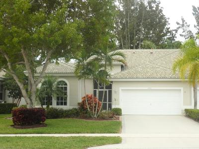 boynton beach Single Family Home For Sale: 7916 Rockford Road