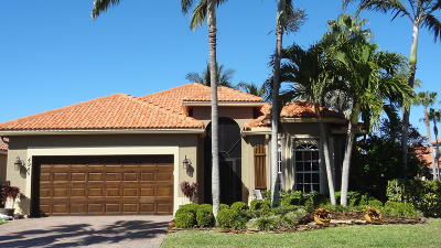 Boynton Beach Single Family Home For Sale: 4945 Bismarck Palm Drive