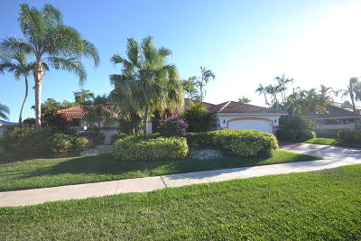 Boca Raton Single Family Home For Sale: 11109 Boca Woods Lane