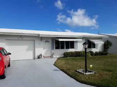 boynton beach Single Family Home For Sale: 110 SW 8th Court
