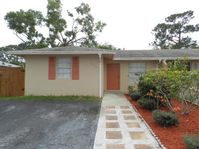 West Palm Beach Single Family Home For Sale: 5192 Cannon Way