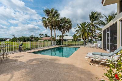Boca Raton Single Family Home For Sale: 17185 Newport Club Drive