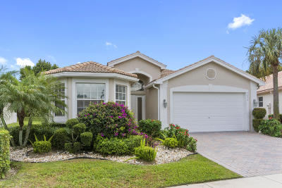 Delray Beach Single Family Home For Sale: 7072 Prado Lake Drive