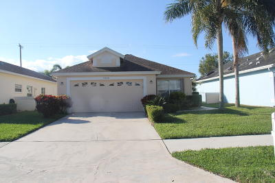 Delray Beach Single Family Home For Sale: 7720 Mansfield Hollow Road