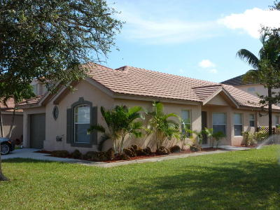 Lake Worth Single Family Home For Sale: 6174 Savannah Way