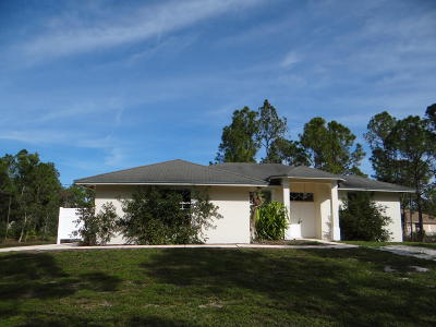 Loxahatchee Single Family Home For Sale: 17353 63rd Road
