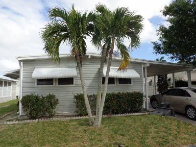 Boynton Beach FL Mobile Home For Sale: $72,500