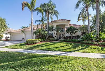 Boca Raton Single Family Home For Sale: 19131 Fox Landing Drive