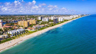 Highland Beach Townhouse For Sale: 3621 S Ocean Boulevard #3