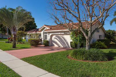 Boynton Beach Single Family Home For Sale: 12487 Dogleg Drive