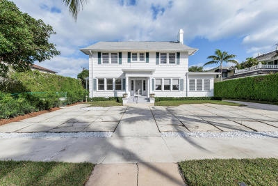 Palm Beach Single Family Home For Sale: 165 Seaspray Avenue