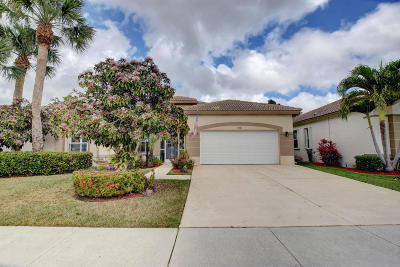 Lake Worth Single Family Home Contingent: 8501 Cypress Glen Court
