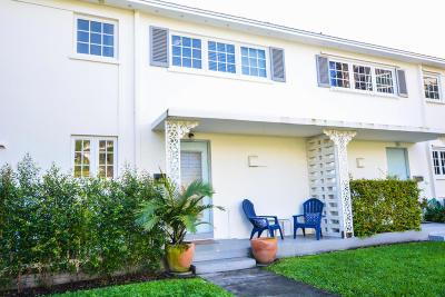 Delray Beach Townhouse For Sale: 31 East Road