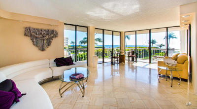 Palm Beach Condo For Sale: 3250 S Ocean Boulevard #206-N