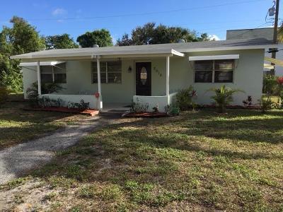 West Palm Beach Single Family Home For Sale: 2918 Saginaw Avenue