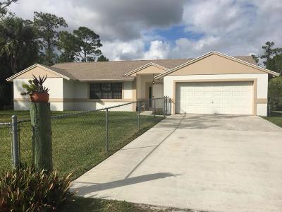 Loxahatchee Single Family Home For Sale: 14421 82nd Lane