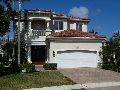 Boynton Beach Single Family Home For Sale: 4325 Key Lime Boulevard