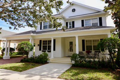 Jupiter Single Family Home For Sale: 237 Marlberry Circle