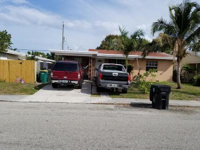 Lake Worth Single Family Home For Sale: 922 S A Street