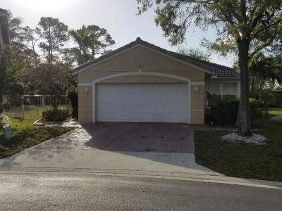 Lake Worth Single Family Home For Sale: 6284 Willoughby Circle