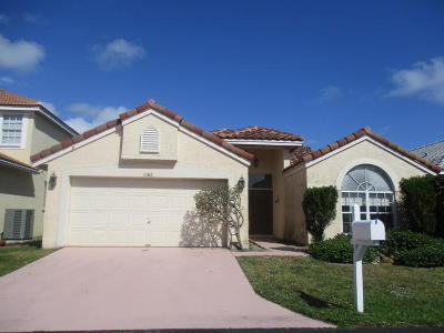 Boynton Beach FL Single Family Home For Sale: $274,900