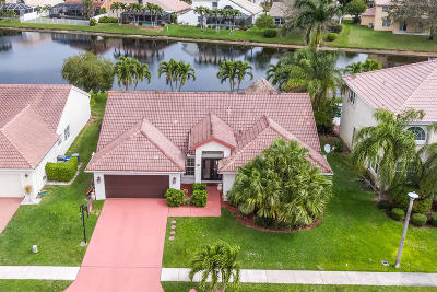 Boynton Beach Single Family Home For Sale: 5760 Descartes Circle