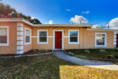 West Palm Beach Single Family Home For Sale: 1957 Breezy Lane