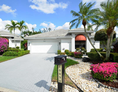 Boca Raton Single Family Home For Sale: 10090 Spyglass Way