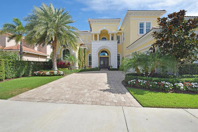 North Palm Beach Single Family Home For Sale: 13910 Chester Bay Lane
