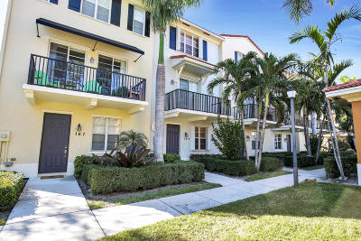 Jupiter Townhouse For Sale: 159 Greenwich Circle