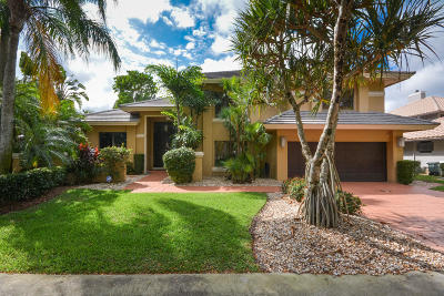 Boca Raton Single Family Home For Sale: 1515 Parkside Circle S
