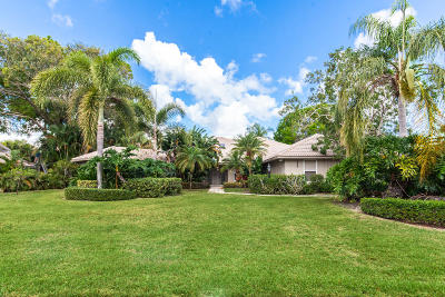 Palm Beach Gardens Single Family Home For Sale: 12923 Bonnette Drive