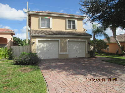 West Palm Beach Single Family Home For Sale: 4327 Onega Circle
