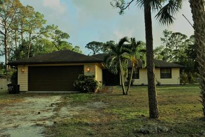West Palm Beach Single Family Home For Sale: 11820 60th Street