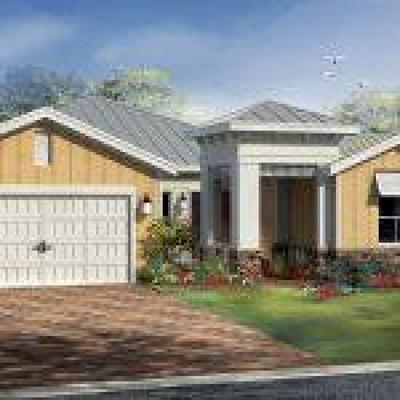 Wellington Single Family Home For Sale: 19536 Tree Stand Terrace #Lt# 223