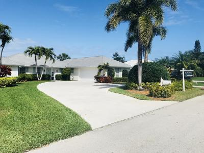 Tequesta Single Family Home For Sale: 354 Fairway