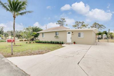 Lake Worth Single Family Home For Sale: 3479 Rostan Lane