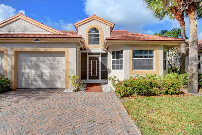 Delray Beach Single Family Home For Sale: 14460 Via Royal