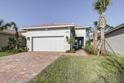 Port Saint Lucie FL Single Family Home For Sale: $299,888
