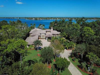 Jupiter Single Family Home For Sale: 5695 Pennock Point Road