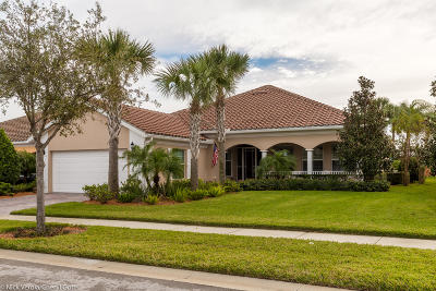 Vero Beach Single Family Home For Sale: 5181 Formosa Circle
