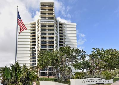 Admirals Walk, Admirals Walk Tower Condo Condo For Sale: 4545 Ocean Boulevard #5d