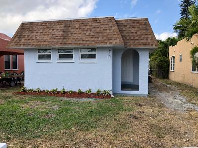 Lake Worth Single Family Home For Sale: 613 S M Street