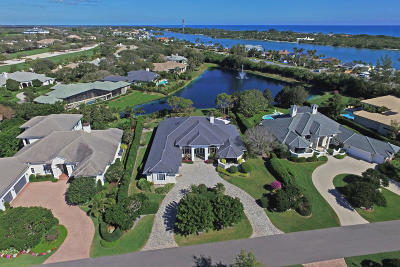 Tequesta Single Family Home For Sale: 12009 SE Intracoastal Terrace