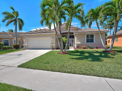 Boynton Beach Single Family Home For Sale: 9313 Cove Point Circle