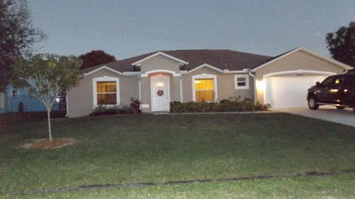 Port Saint Lucie Single Family Home Contingent: 3071 SW Boxwood Circle