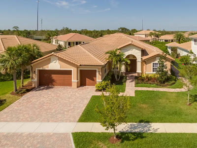 Jupiter Single Family Home For Sale: 442 Rudder Cay Way